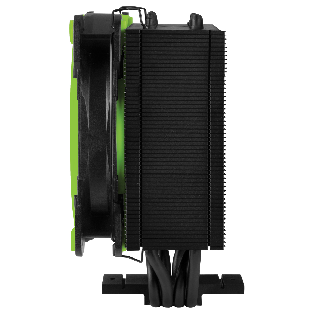 Tower CPU Cooler with BioniX P-Fan ARCTIC Freezer 34 eSports (Green) Side View
