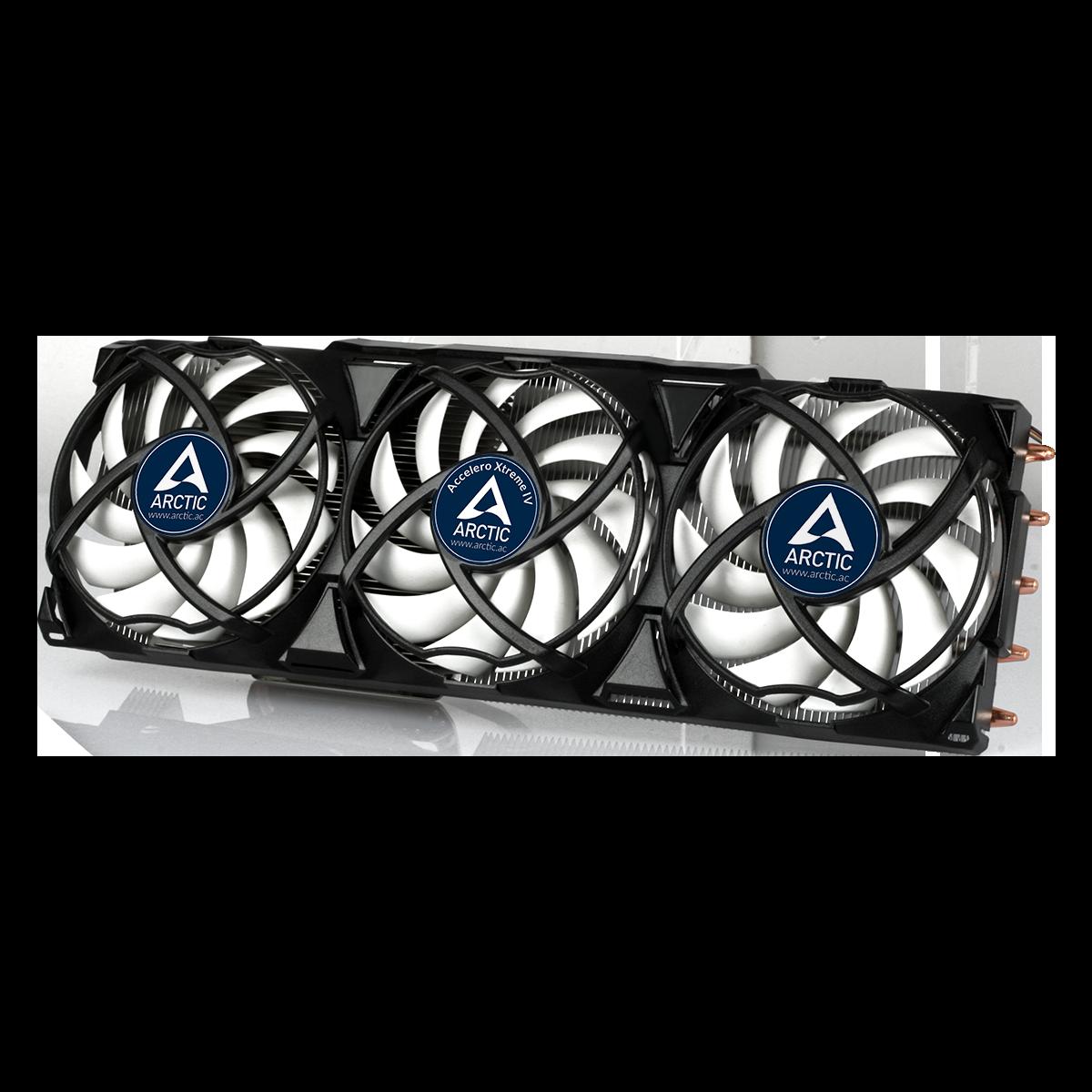 High-End Grafikkartenkühler mit Backplate ARCTIC Accelero Xtreme IV