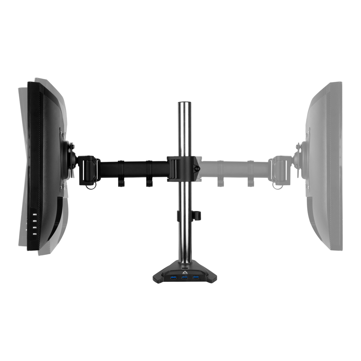 Desk Mount Monitor Arm with SuperSpeed USB Hub ARCTIC Z1 Pro (Gen 3) Tiltable