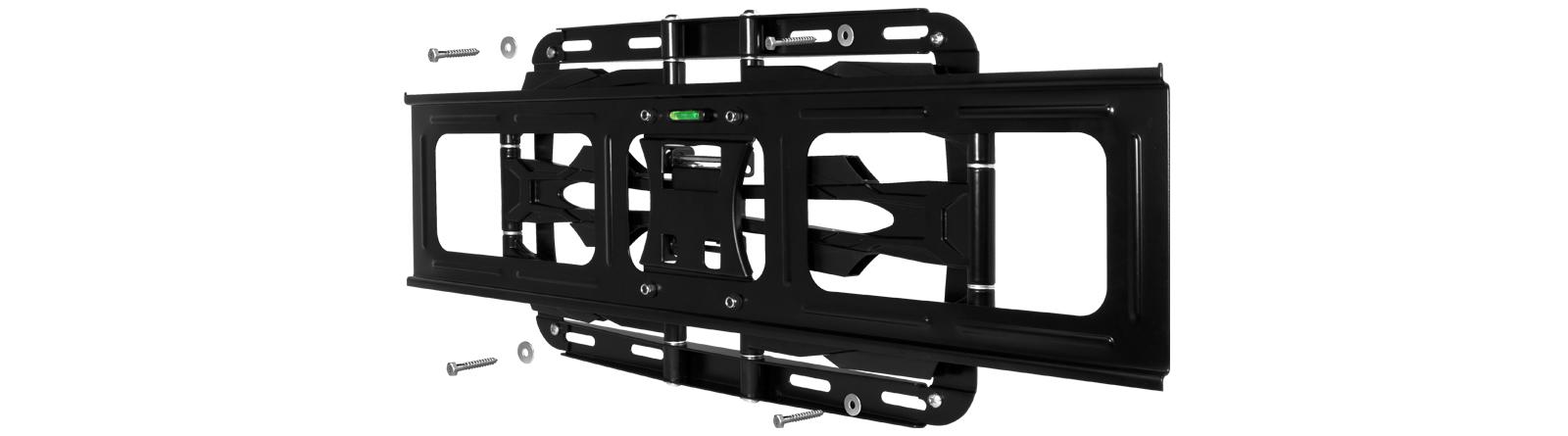 Vollbewegliche XL TV-Wandhalterung zur einfachen Montage: ARCTIC TV Flex L