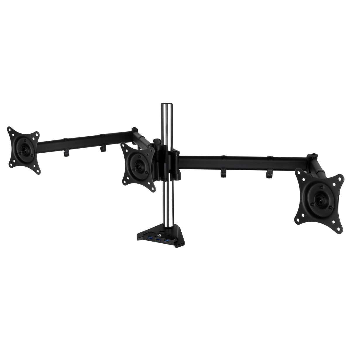 Desk Mount Triple Monitor Arm with SuperSpeed USB Hub ARCTIC Z3 Pro (Gen 3)