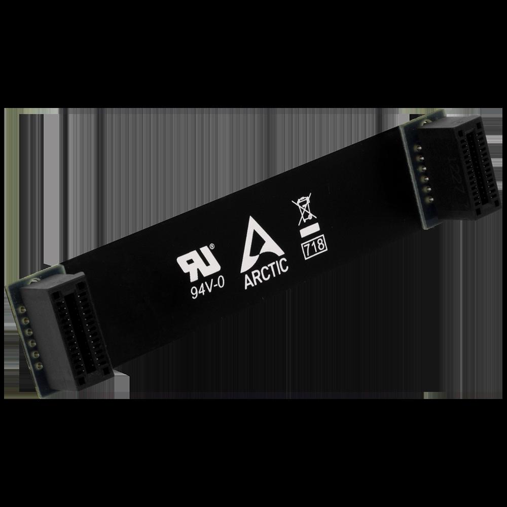 Flexibles 101 mm SLI Kabel für NVIDIA ARCTIC SLI Bridge