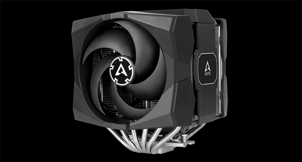 Multikompatibler Dual Tower CPU Kühler  ARCTIC Freezer 50 P-Lüfter