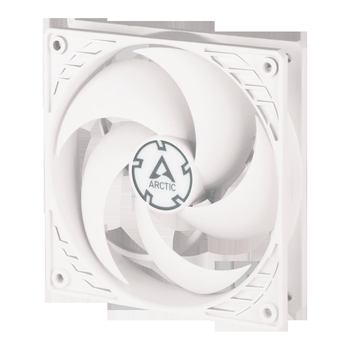 Pressure-optimised 120 mm PWM Fan ARCTIC P12 PWM | White/White