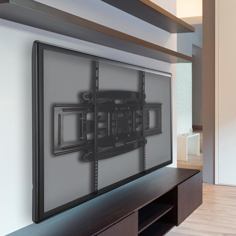 Platzsparende Wandbefestigung für extragroße TVs ARCTIC TV Flex L