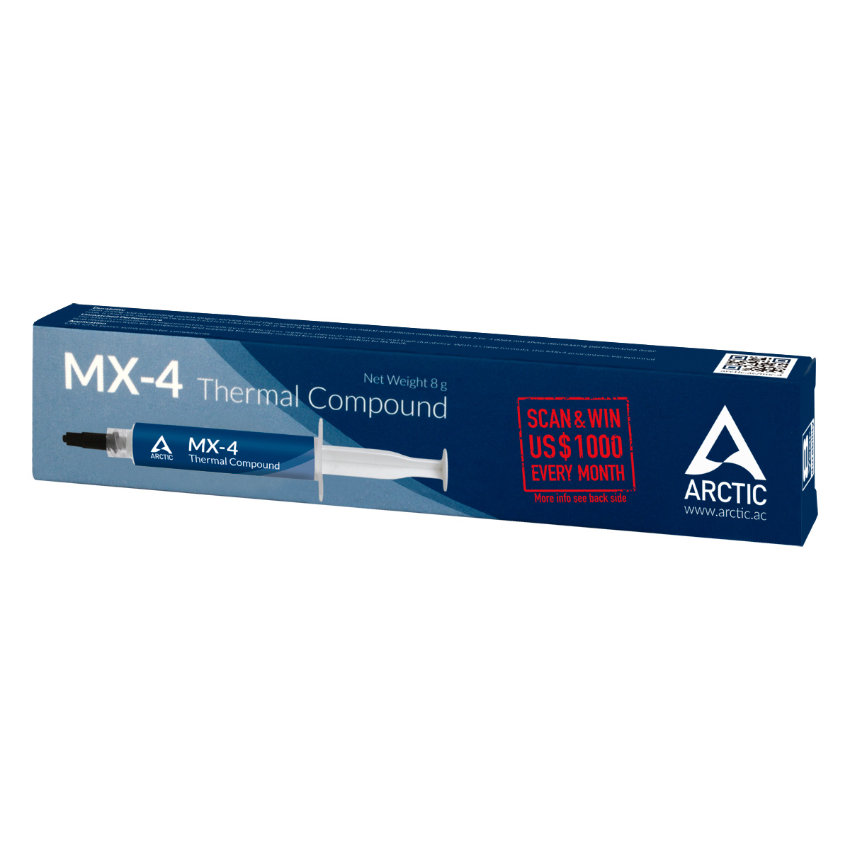 Highest Performance Thermal Compound ARCTIC MX-4 (8 g) Packaging Front View