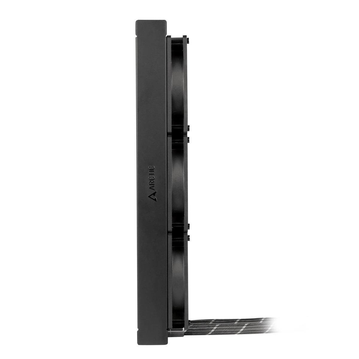 Multikompatibler AiO CPU-Wasserkühler ARCTIC Liquid Freezer II 360 Seitenansicht
