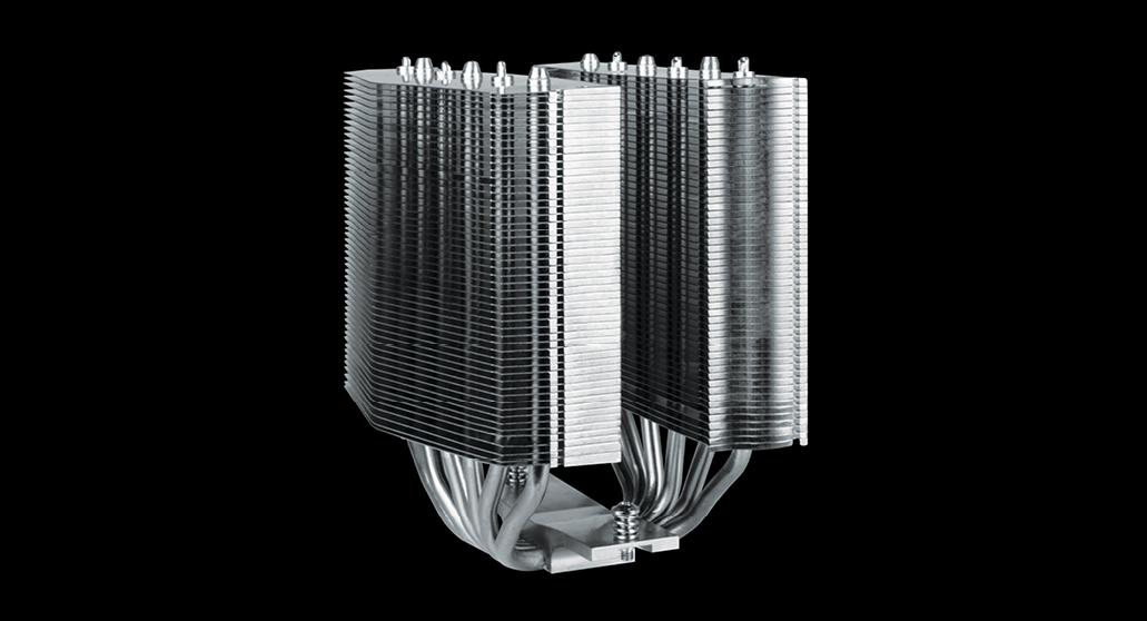 Multikompatibler Dual Tower CPU Kühler  ARCTIC Freezer 50 Dual Tower Design