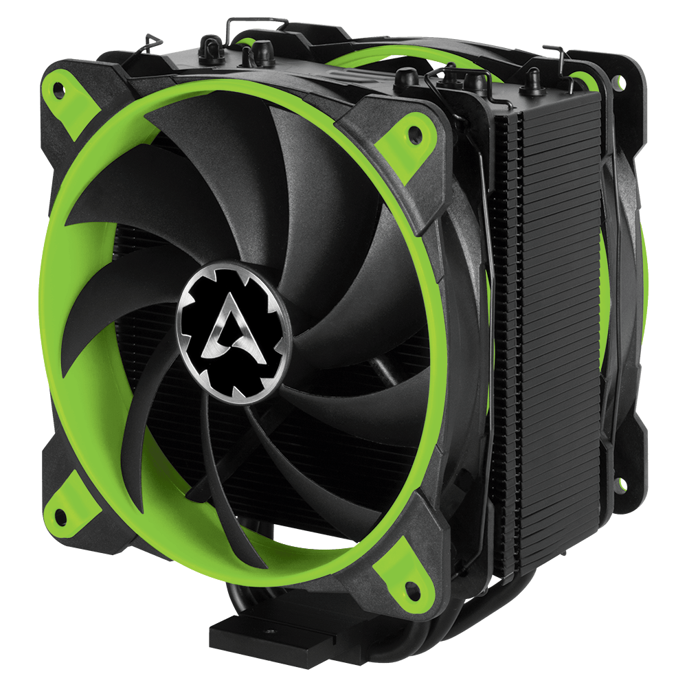 Tower CPU Kühler mit Push-Pull Konfiguration ARCTIC Freezer 33 eSports Edition Grün
