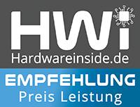 Hardware inside award