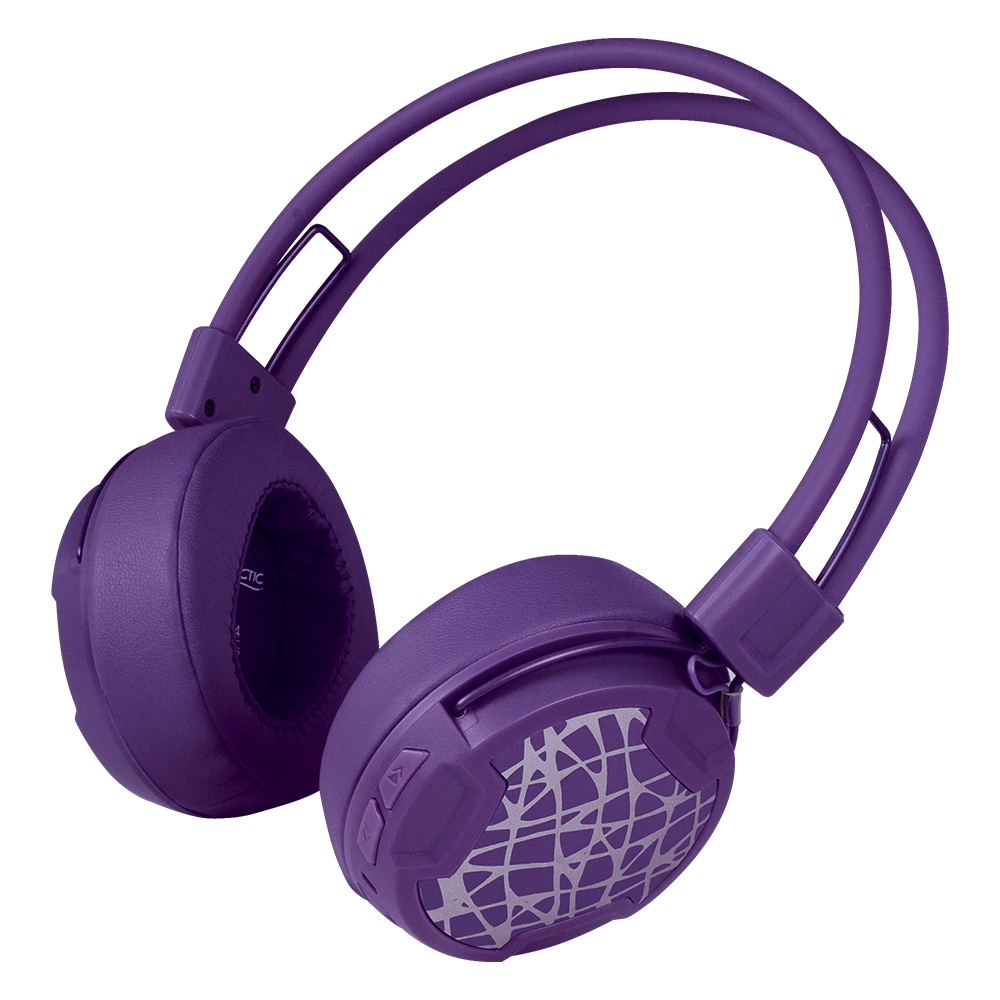 Bluetooth 4.0 Kopfhörer mit Mikrofon ARCTIC P604 Wireless | Lila