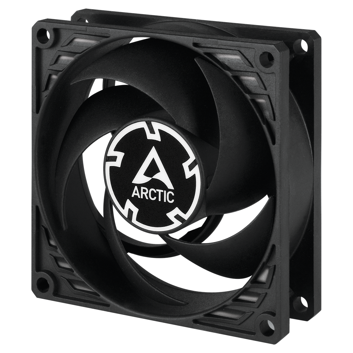 Pressure-optimised 80 mm PWM PST Fan for Continuous Operation ARCTIC P8 PWM PST CO