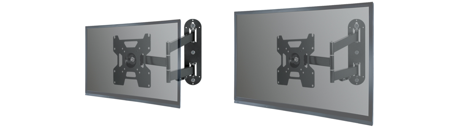 Full-Motion TV Wall Mount ARCTIC TV Flex S for Small to Medium-Sized TV Sets