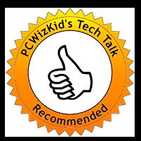 PCWizKids Tech Talk award