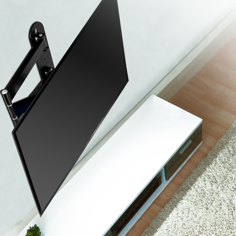 Flat Screen with Full-Motion Wall Mount ARCTIC TV Flex S