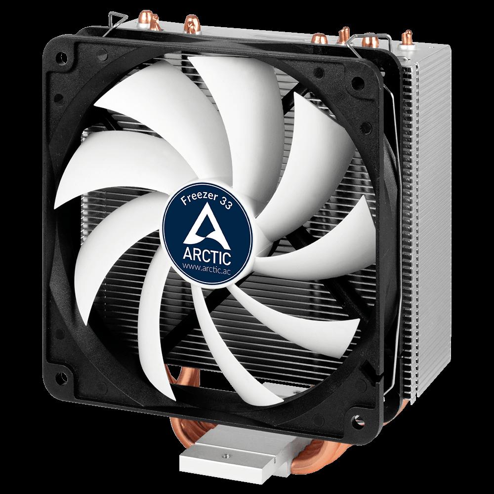 Semi-passiver CPU-Kühler für AMD/Intel CPU ARCTIC Freezer 33