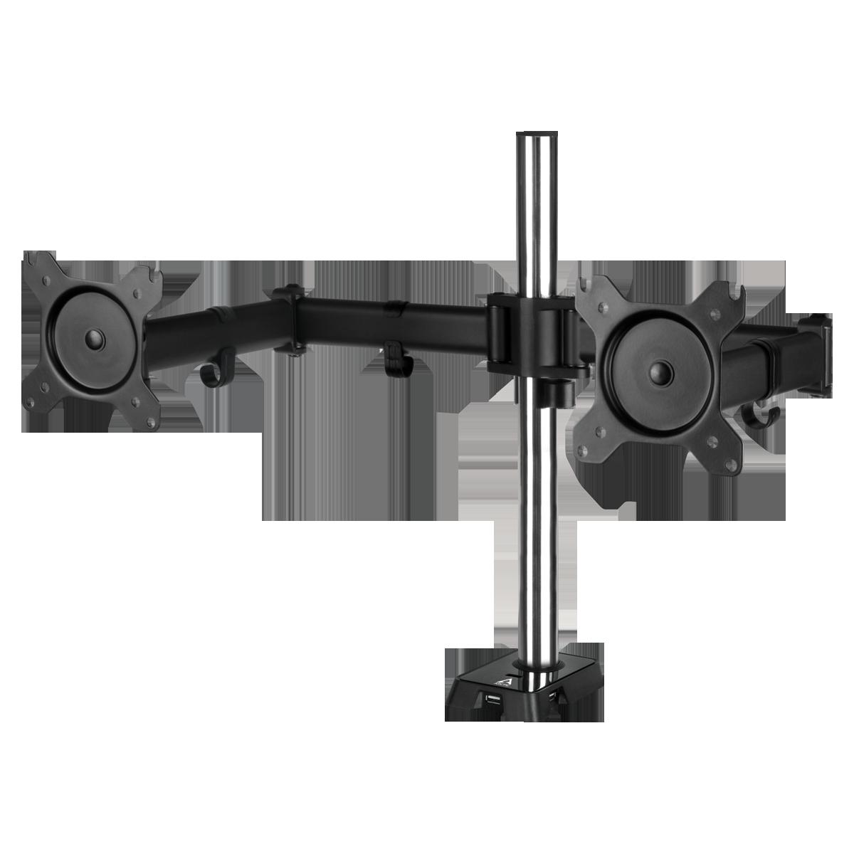 Desk Mount Dual Monitor Arm with USB Hub ARCTIC Z2 (Gen 3)