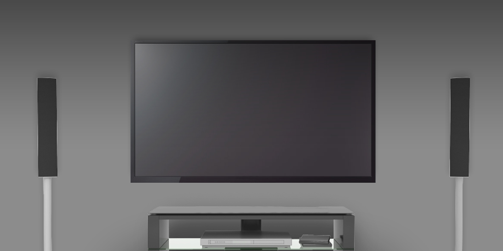 XL Flat Screen with Wall Mount ARCTIC TV Basic L