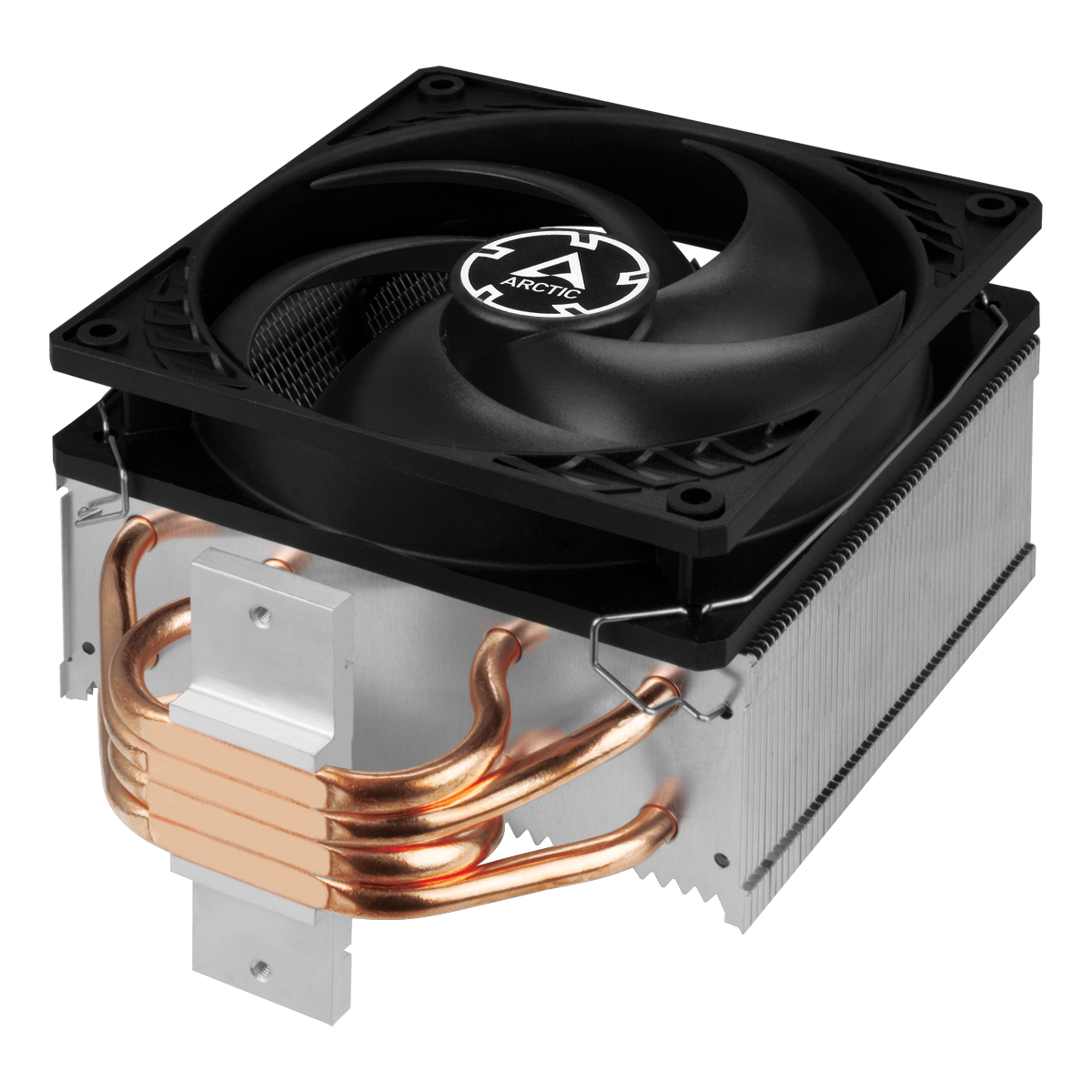 Tower CPU-Kühler mit 120 mm P-Lüfter ARCTIC Freezer 34 Detailansicht Direct Touch Heatpipes