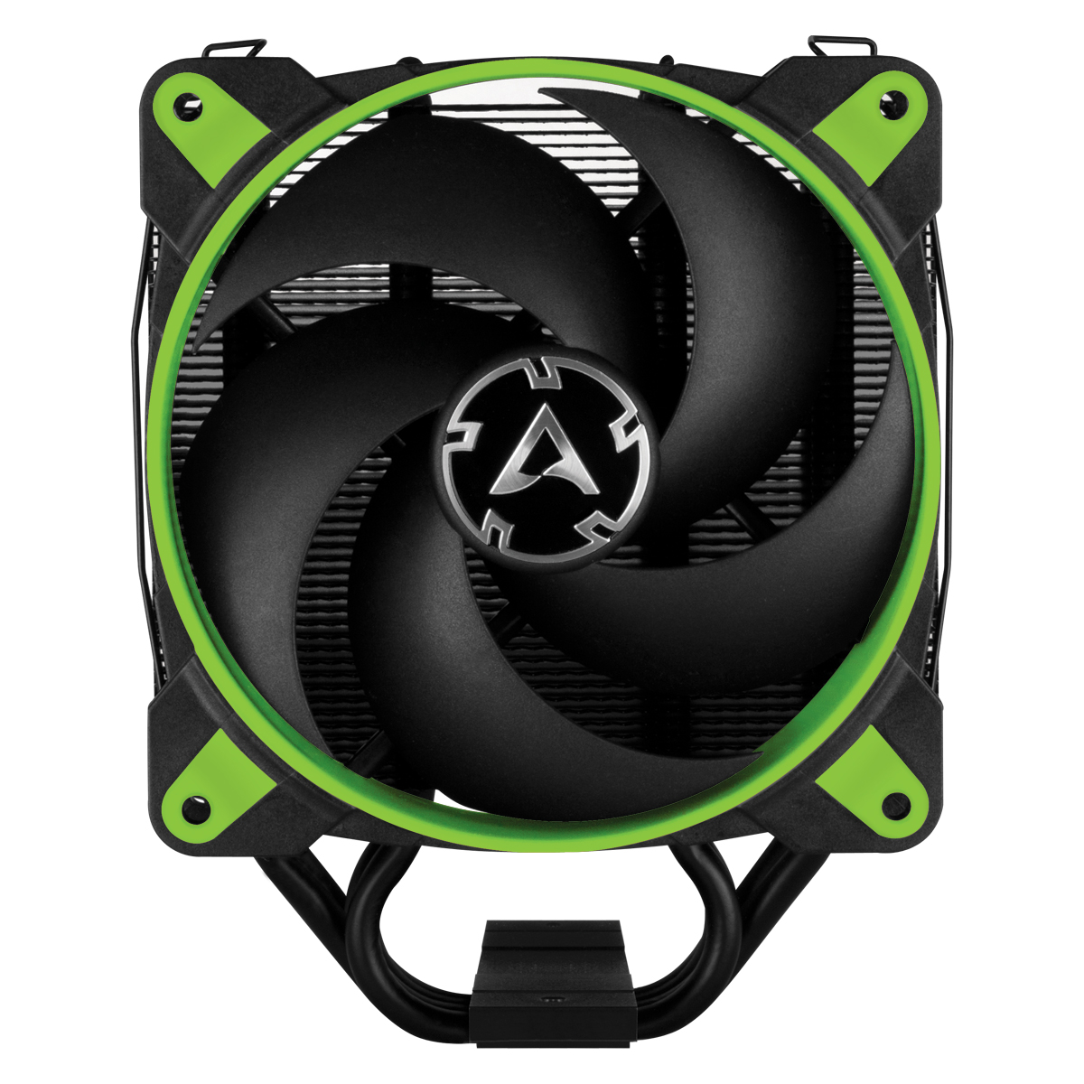 Tower CPU Cooler with BioniX P-Fan ARCTIC Freezer 34 eSports (Green) Front View
