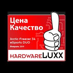 Hardwareluxx RU award