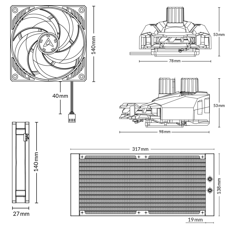 Liquid Freezer II - 280