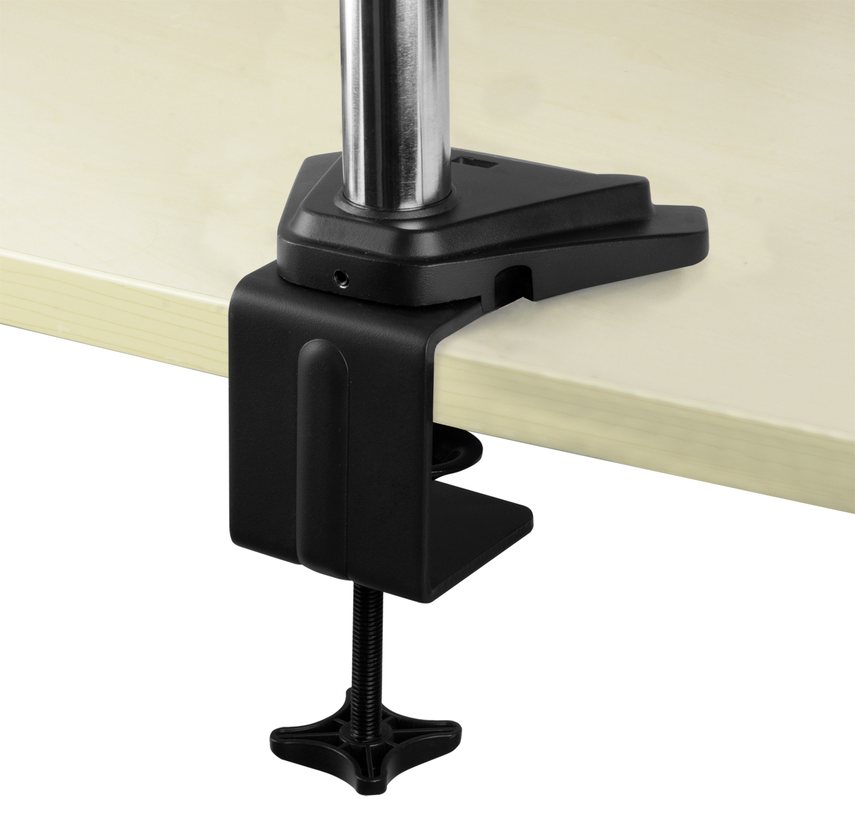 Desk Mount Monitor Arm with SuperSpeed USB Hub ARCTIC Z1 Pro (Gen 3) Detail View Table Mounting Clamp Open