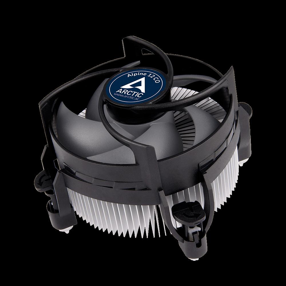 Kompakter Intel CPU-Kühler für Dauerbetrieb ARCTIC Alpine 12 CO