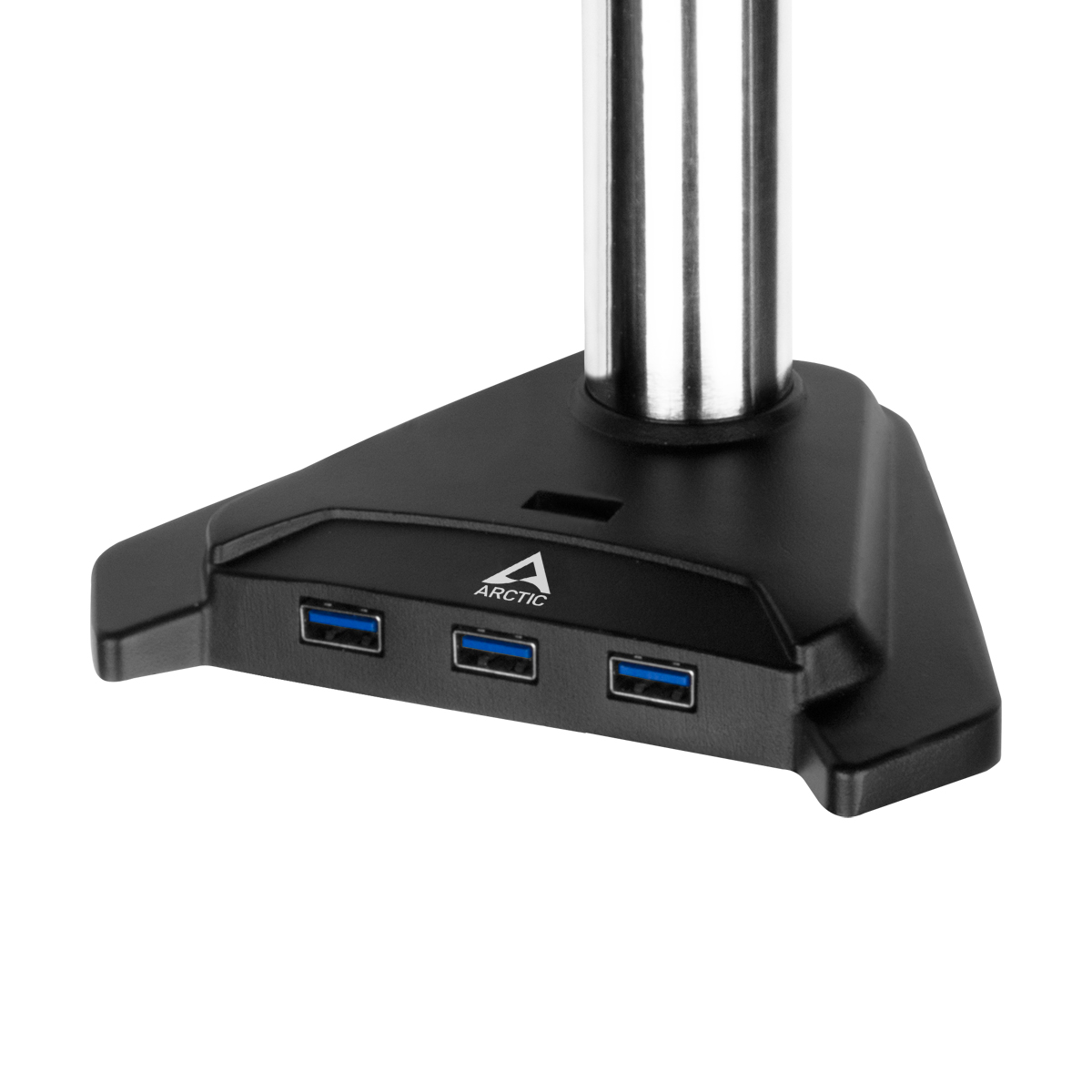 Desk Mount Monitor Arm with SuperSpeed USB Hub ARCTIC Z1 Pro (Gen 3) Detail View SuperSpeed USB Hub