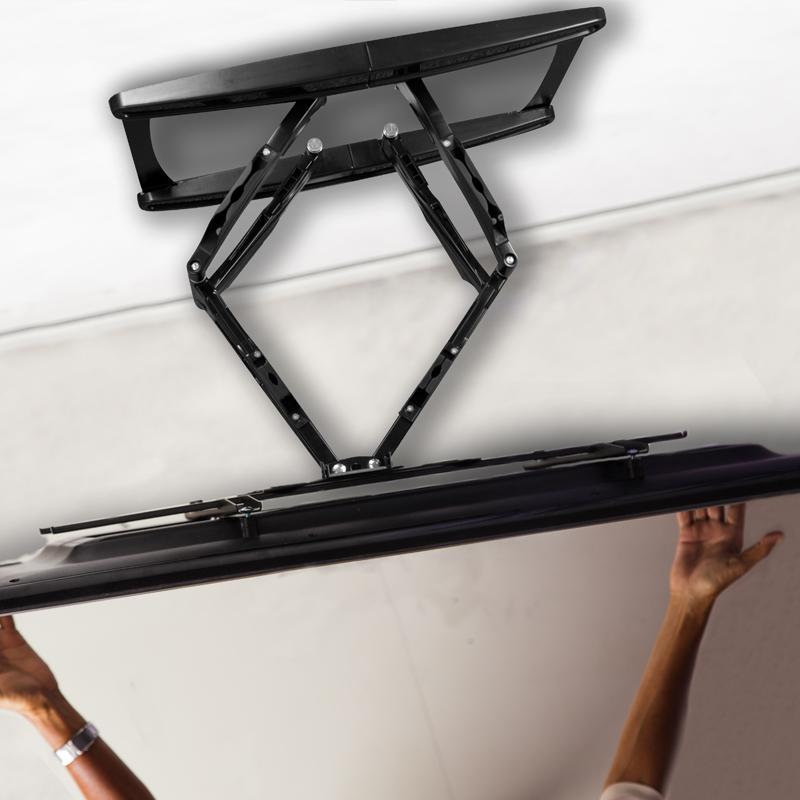 Flexible Ausrichtung mit vollbeweglicher XL TV-Wandhalterung ARCTIC TV Flex L – Drehbar, Schwenkbar, Neigbar