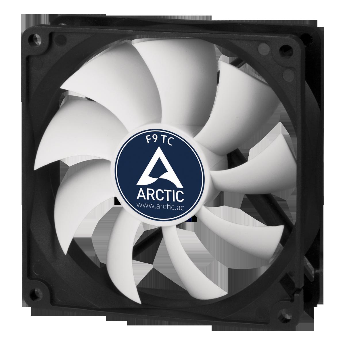 92 mm 3-Pin Case Fan with Temperature Sensor ARCTIC F9 TC