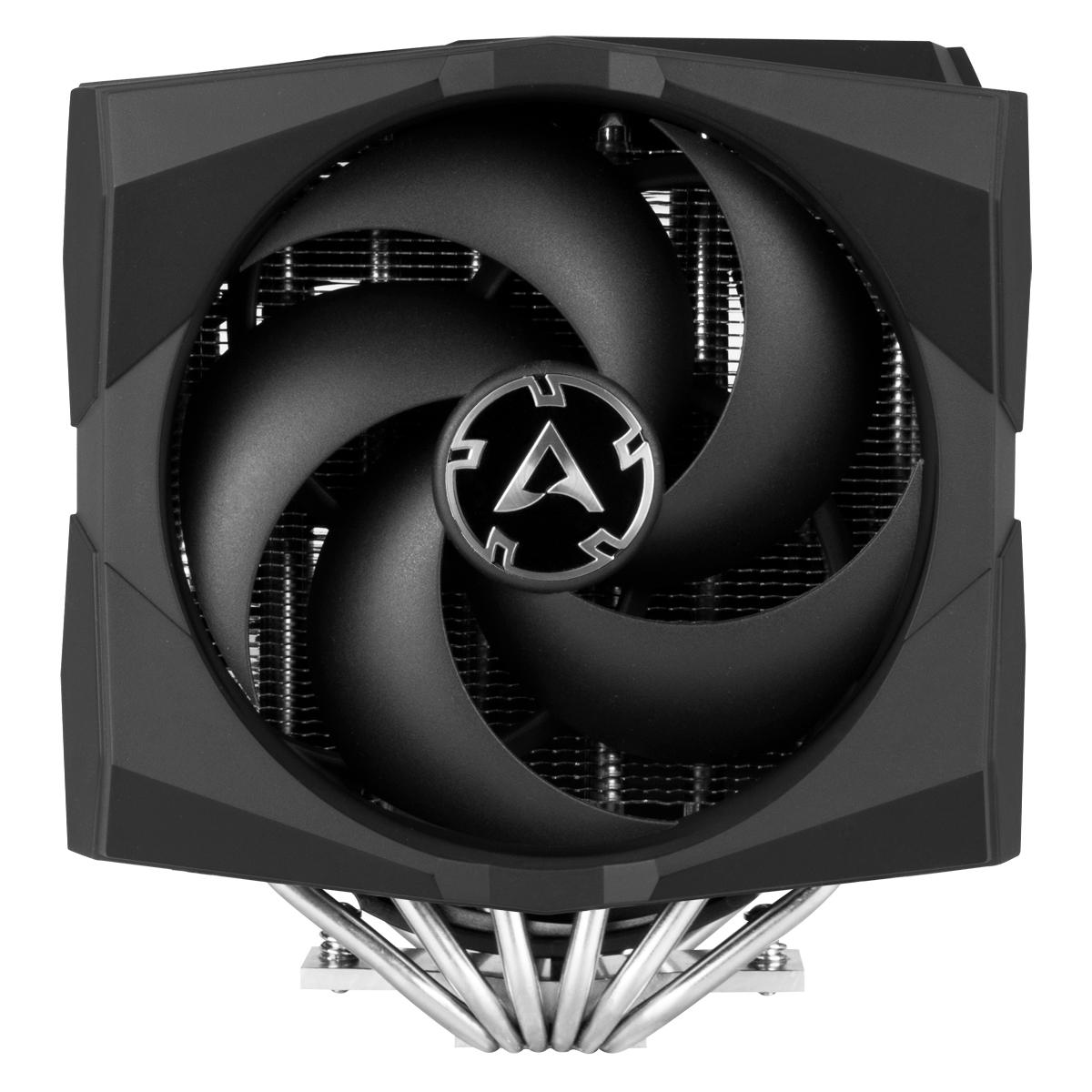Multikompatibler Dual Tower CPU Kühler mit A-RGB ARCTIC Freezer 50 Vorderansicht