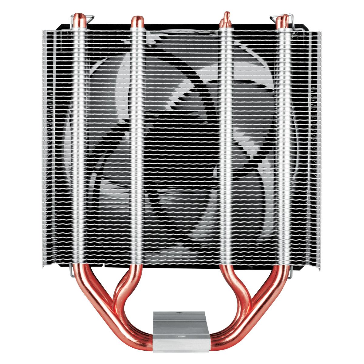 Tower CPU-Kühler mit 120 mm P-Lüfter ARCTIC Freezer 34 Rückansicht