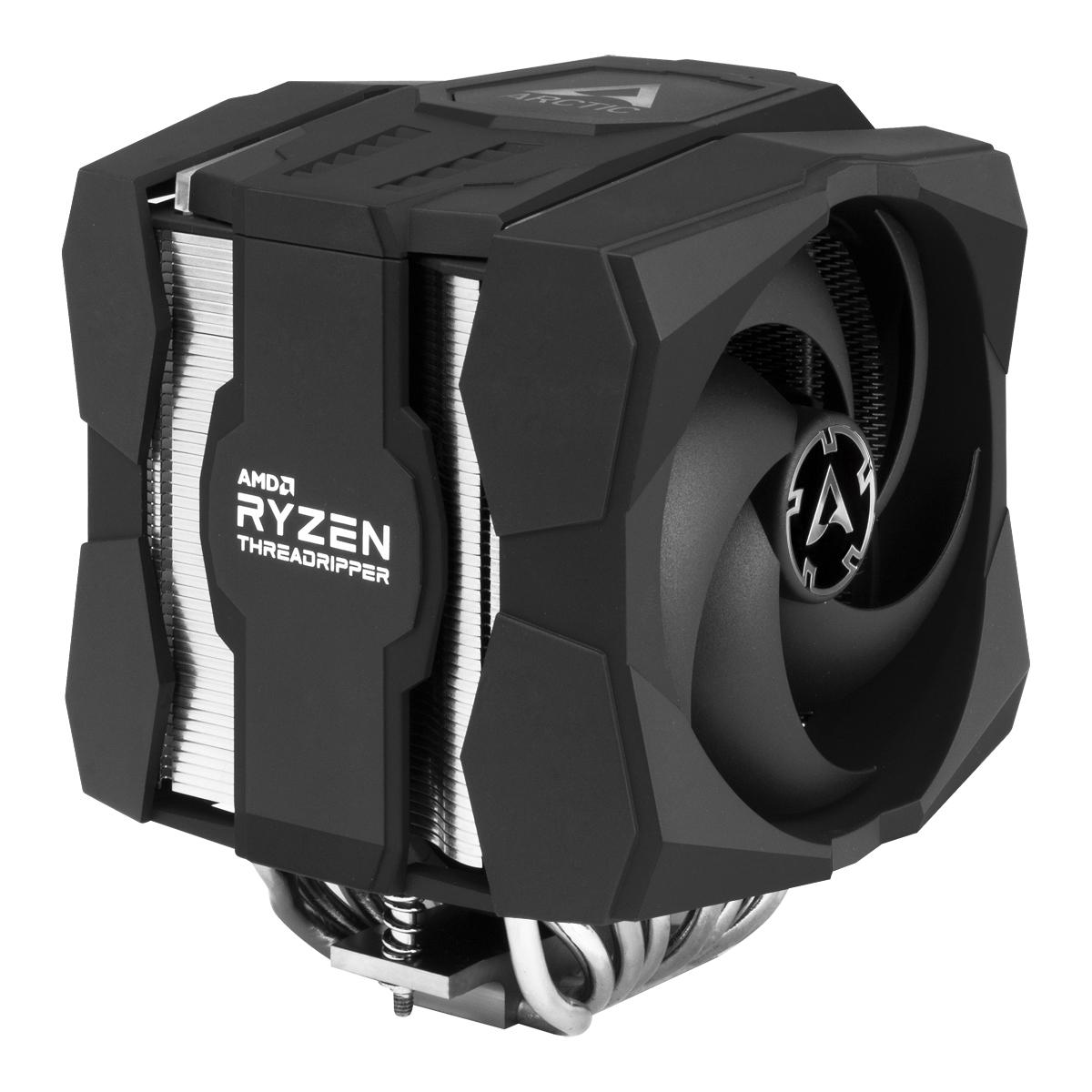 Dual Tower CPU-Kühler für AMD Ryzen™ Threadripper™ ARCTIC Freezer 50 TR Schrägansicht