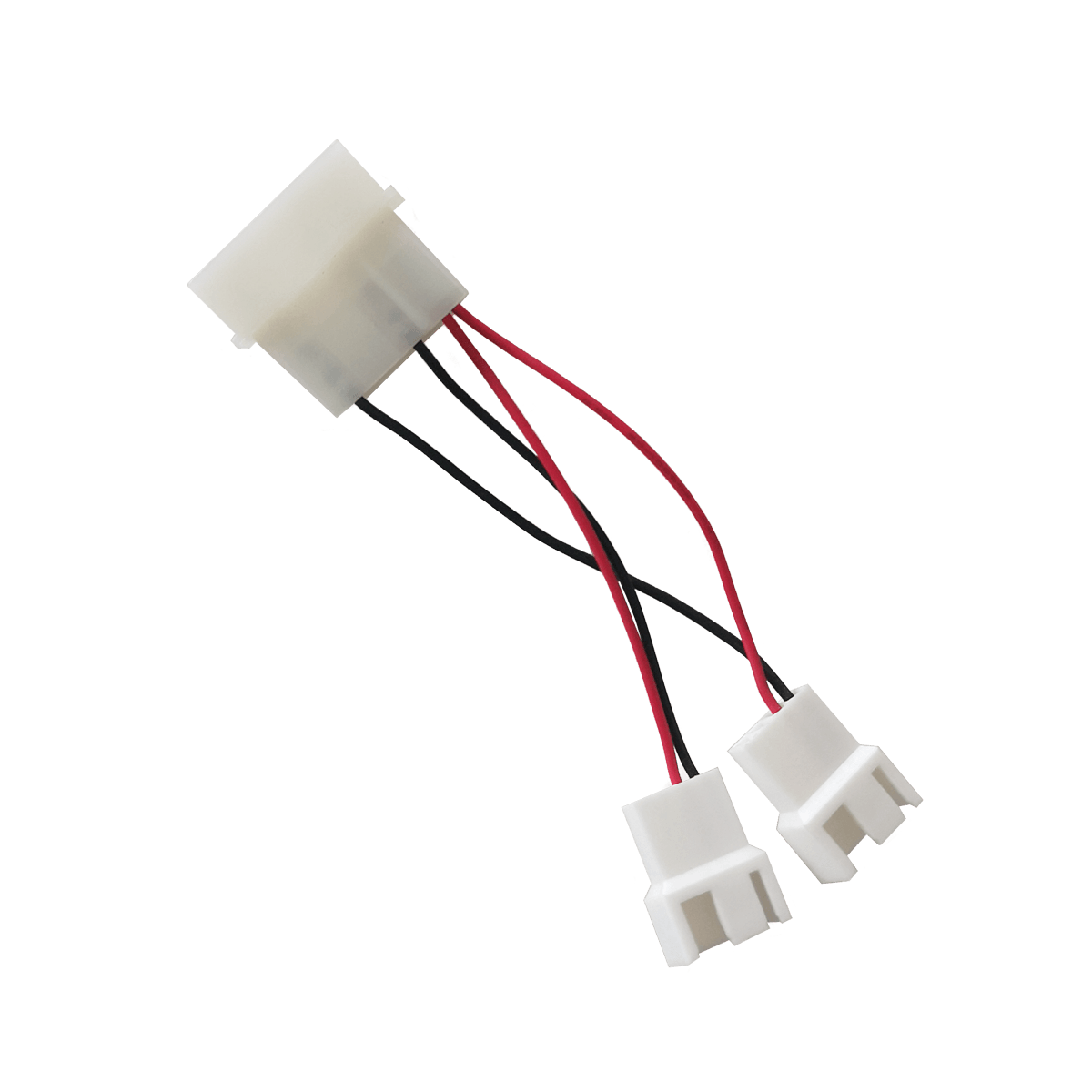 Molex to 7 V and 12 V Case Fan Splitter
