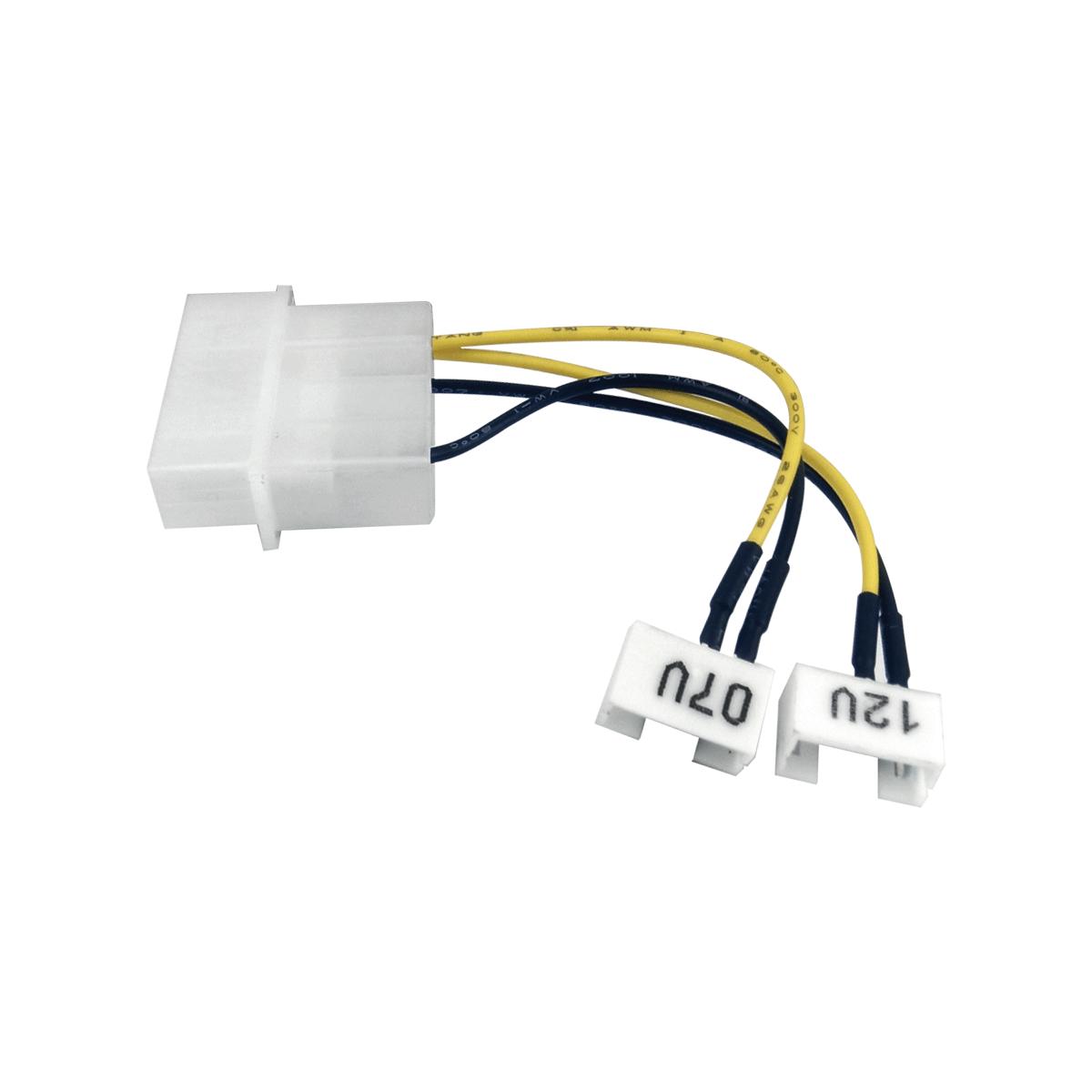 Molex to 7V and 12V GPU Adapter