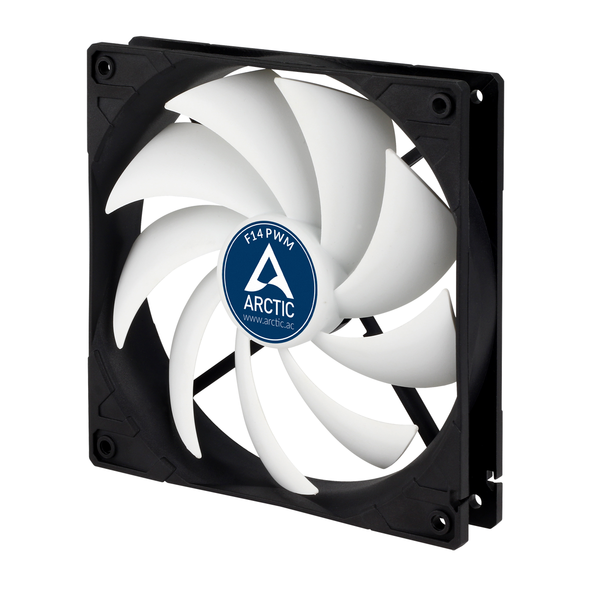 140 mm 4-Pin Case Fan with PWM ARCTIC F14 PWM