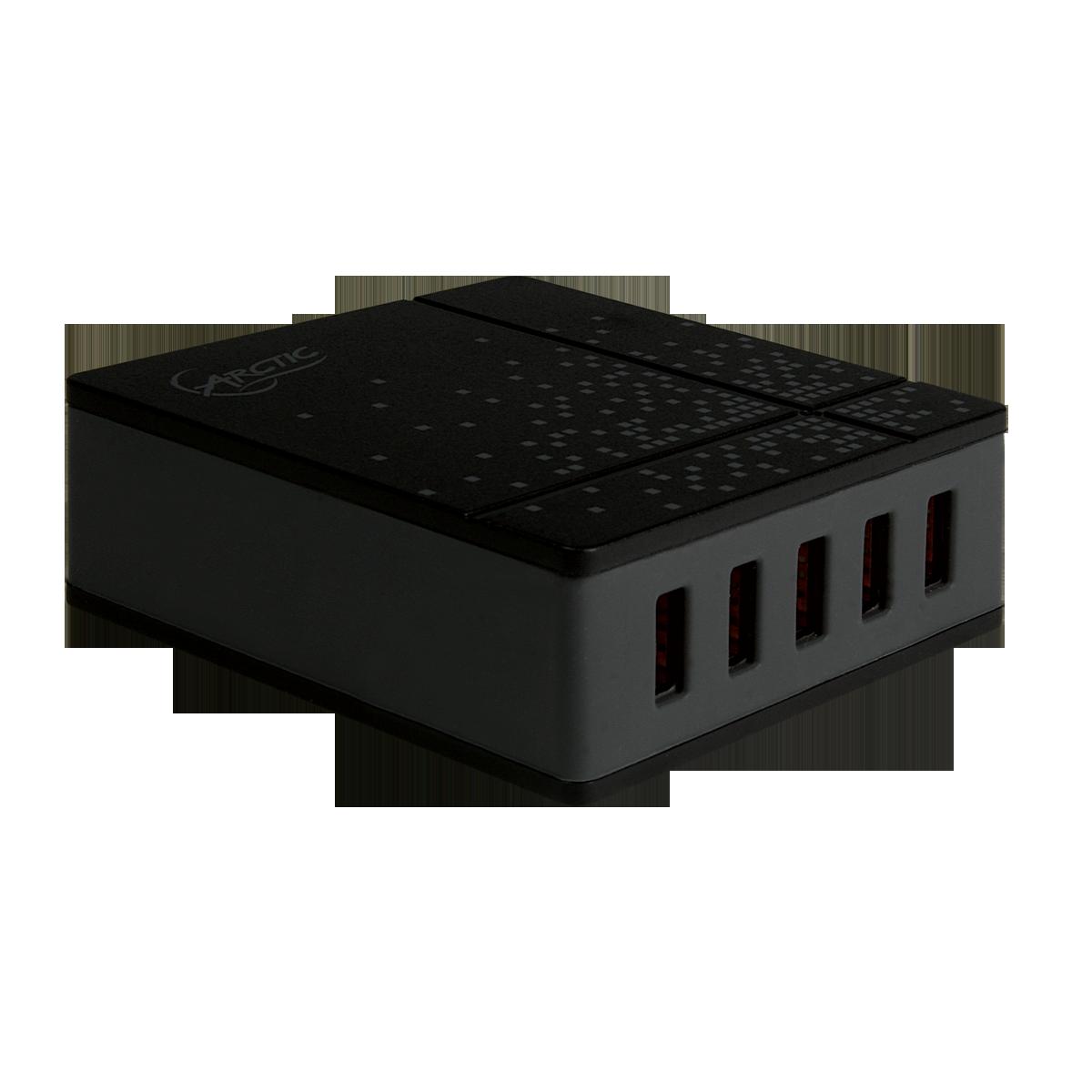 5 Port USB-Schnellladegerät ARCTIC Smart Charger 8000 | UK Version